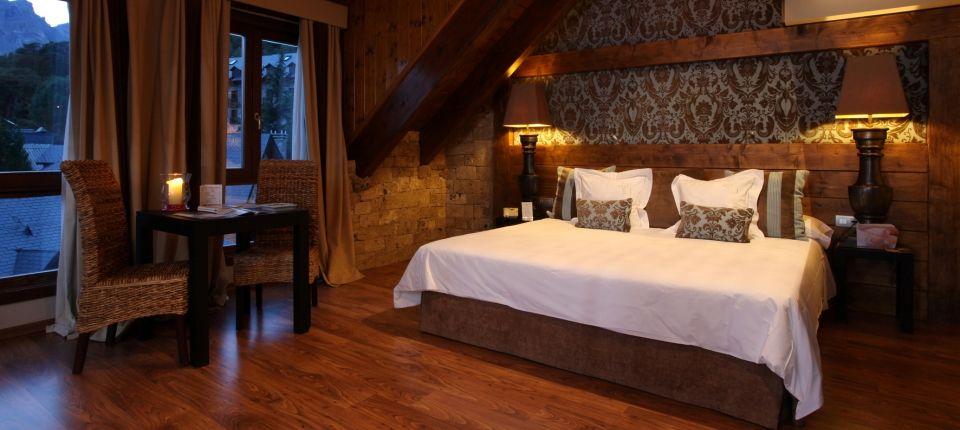 Suite adaptada Hotel El Privilegio de Tena