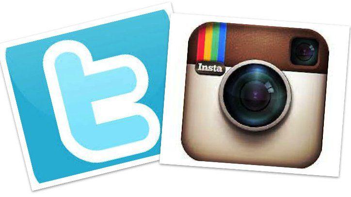 Promo en Instragram y Twitter