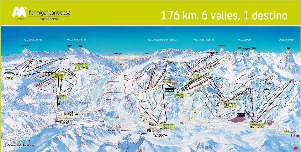 Estación de esquí de Formigal y Panticosa - Grupo Aramón