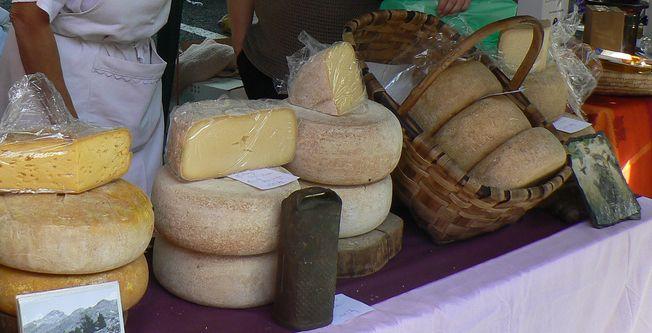 Feria del queso Laruns