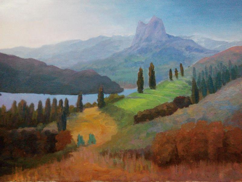 colores del valle de tena