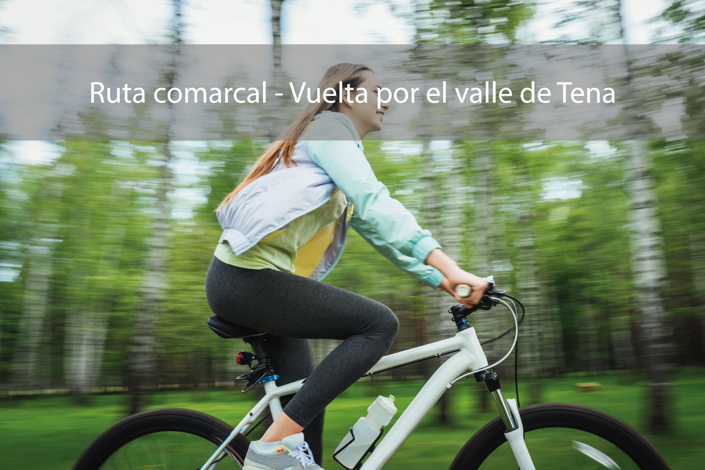 Ruta en bici en el Valle de Tena, Pirineo Aragonés