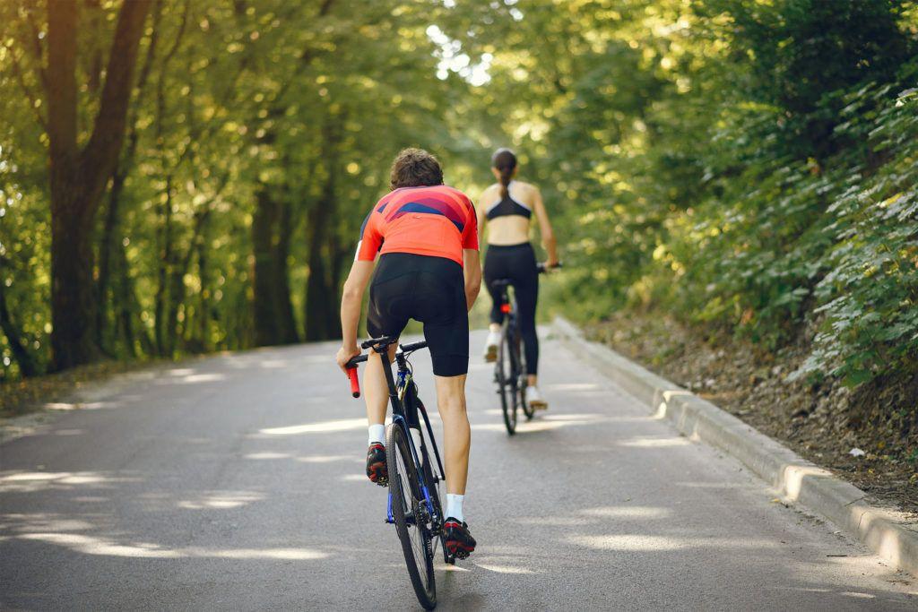 Bicicleta de carretera en el Pirineo Aragonés